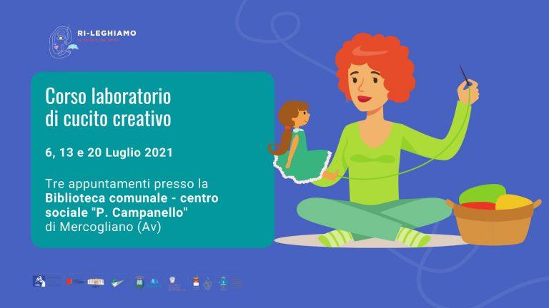 A luglio il corso laboratorio di cucito creativo presso la biblioteca Pasquale Campanello